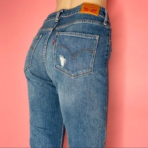 LEVI'S • 721 High Waisted Skinny Straight Jeans